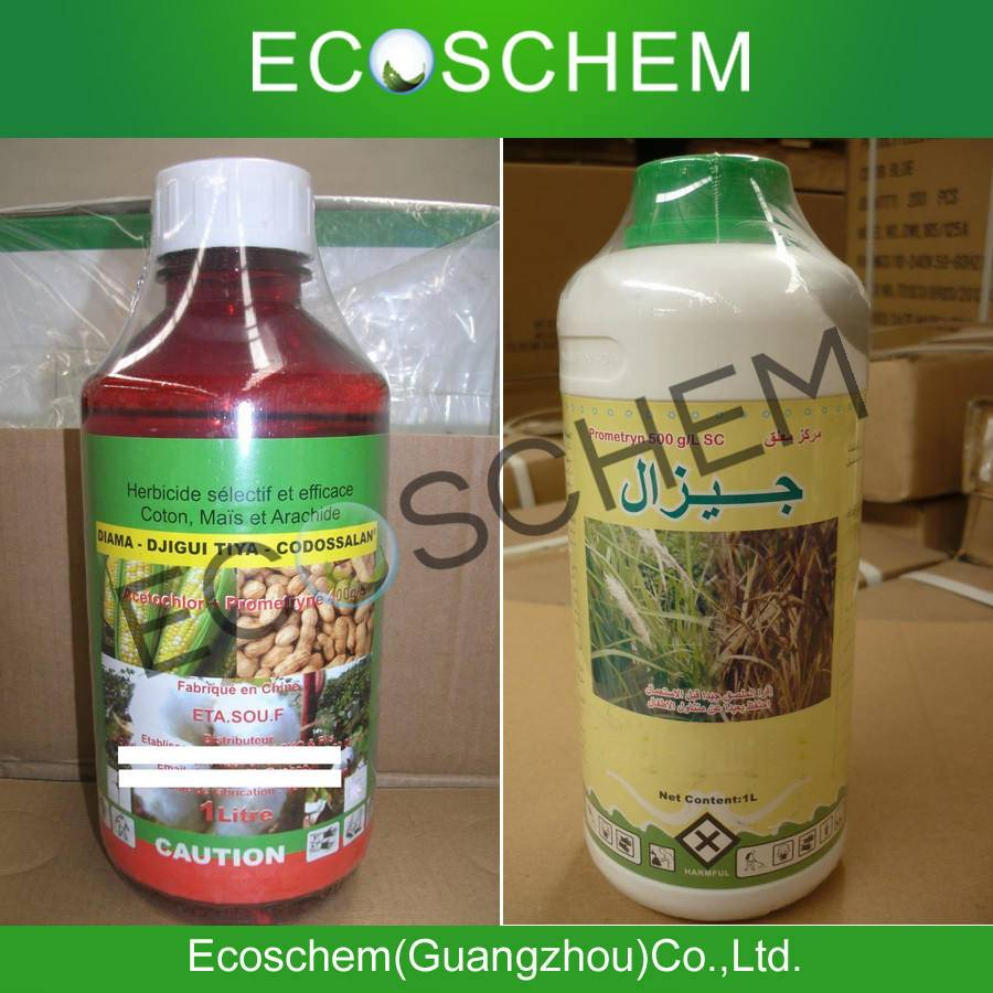 China Agrochemical Prometryn 50% wp, 500g/l sc for weed control