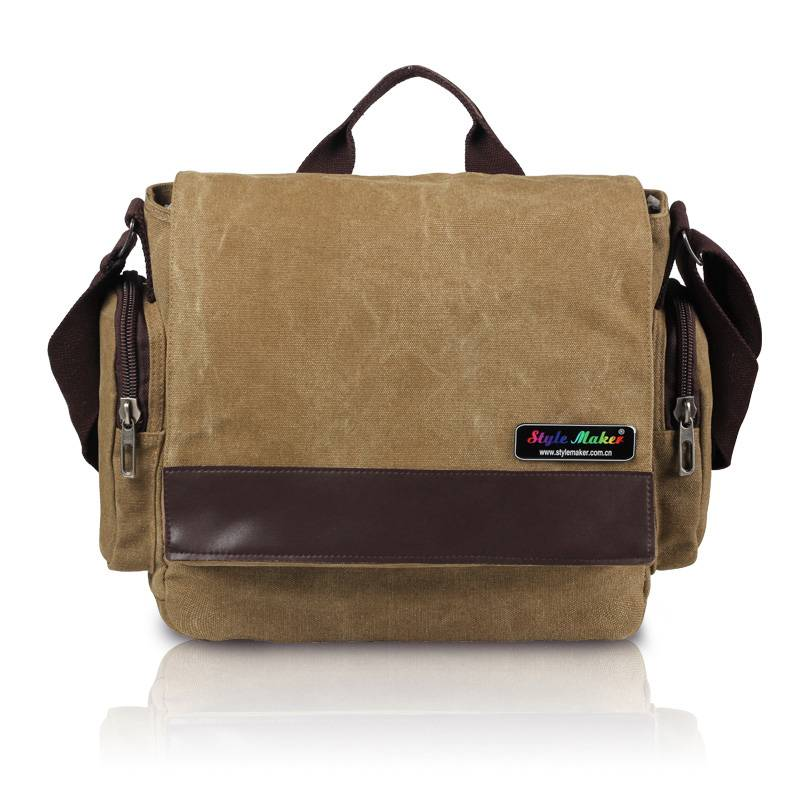 Canvas Computer Shoulder bag GF-074