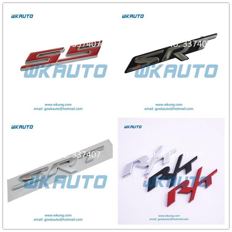 high quality SS SRT R/Tcar badges car emblem