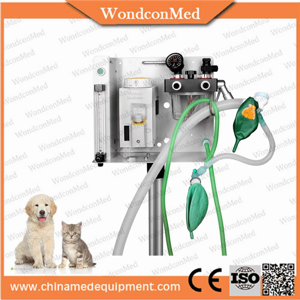 small veterinary anesthesia machine