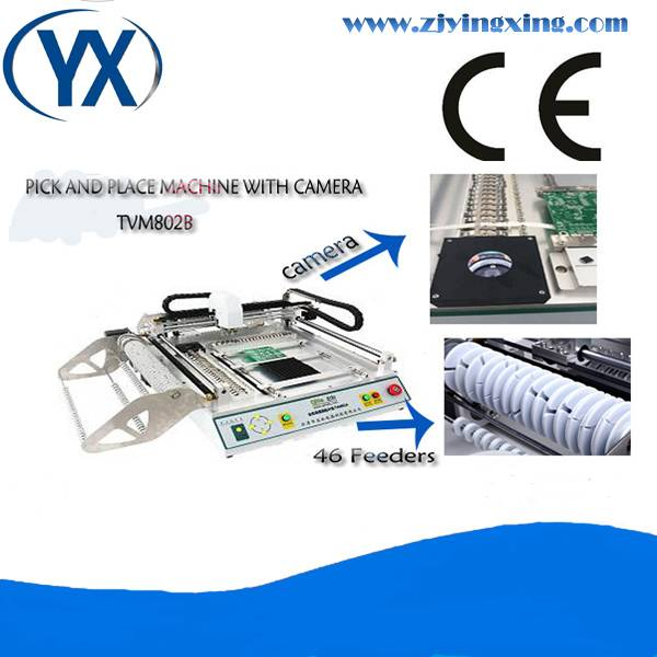Pick and Place Machine Automatic recognize fiducial mark TVM802B LED Machine