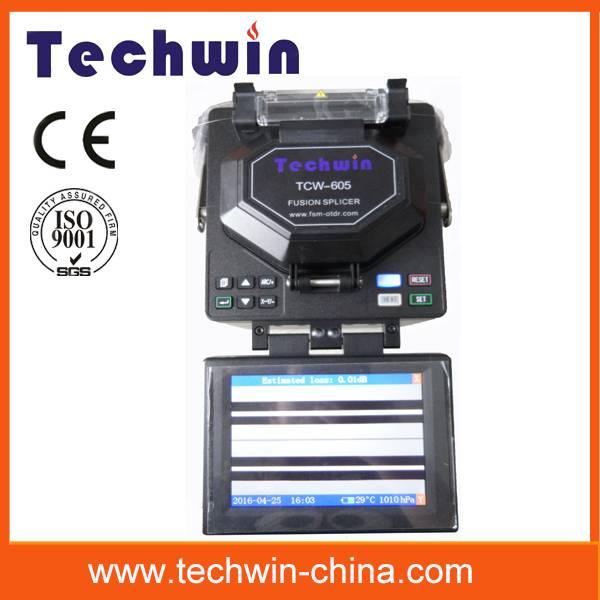 Techwin fusionadora TCW-605 fiber fusion splicer
