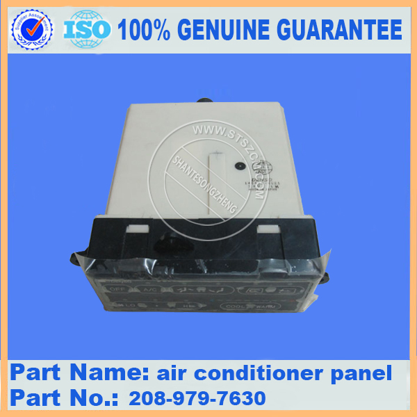Komatsu PC300-7 air conditioner panel 208-979-7630