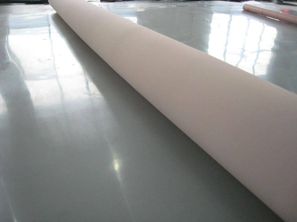 Maximum 3.8m width without joints 100% virgin silicone rubber sheet with translucent, dark red