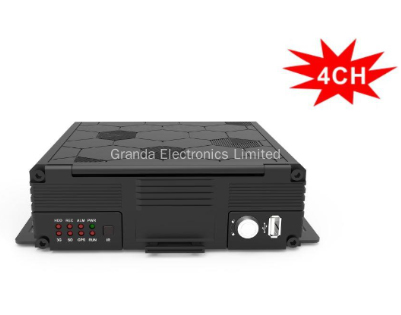 4 Channel AHD HDD DVR Driving Video Recording System