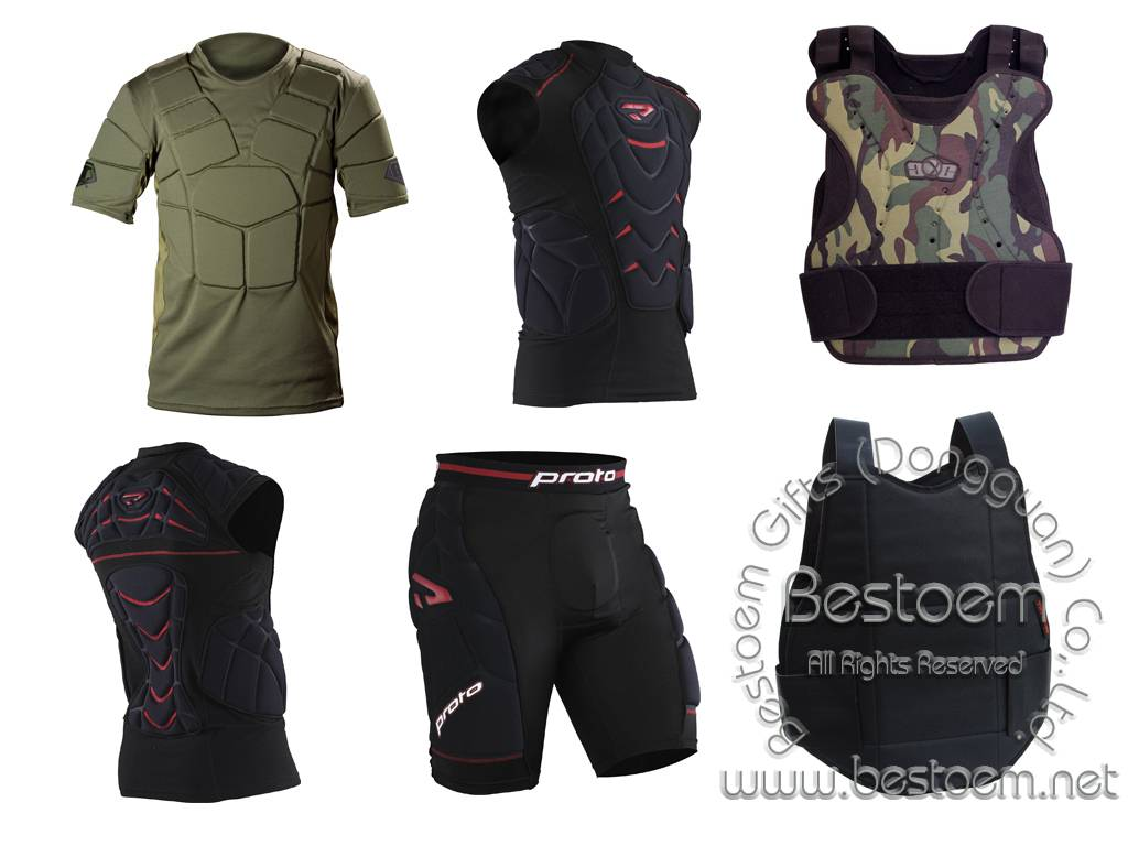 Paintball Chest Back and Hip Protectors