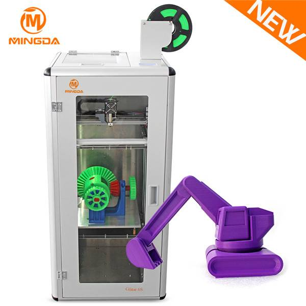 New design Glitar 6S 300*300*600mm 3d desktop printer for ABS/PLA filament
