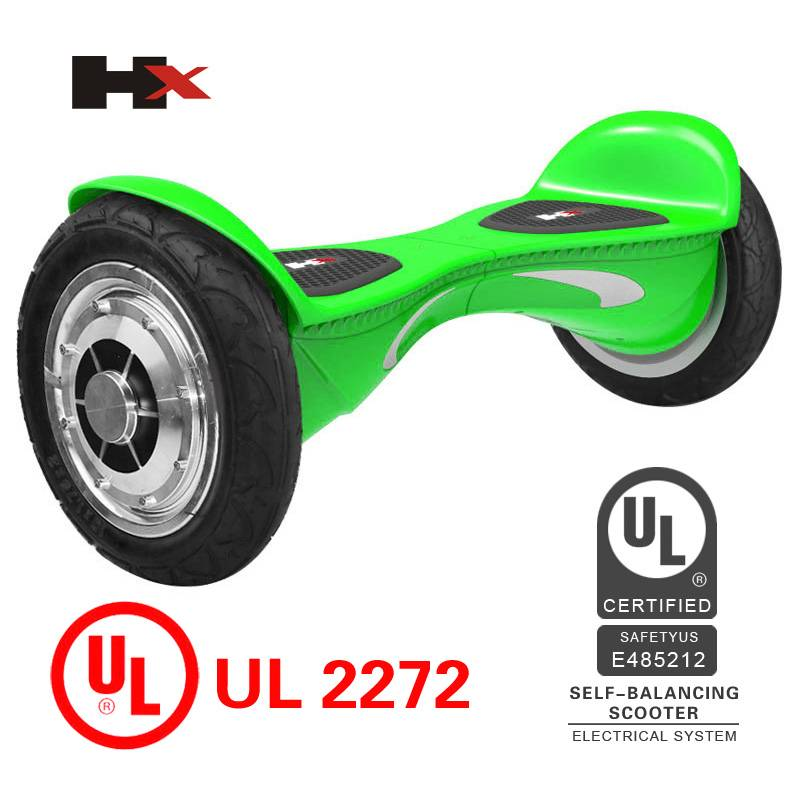 Fastest speed self balancing hoverboard electric standing scooter with UL2272