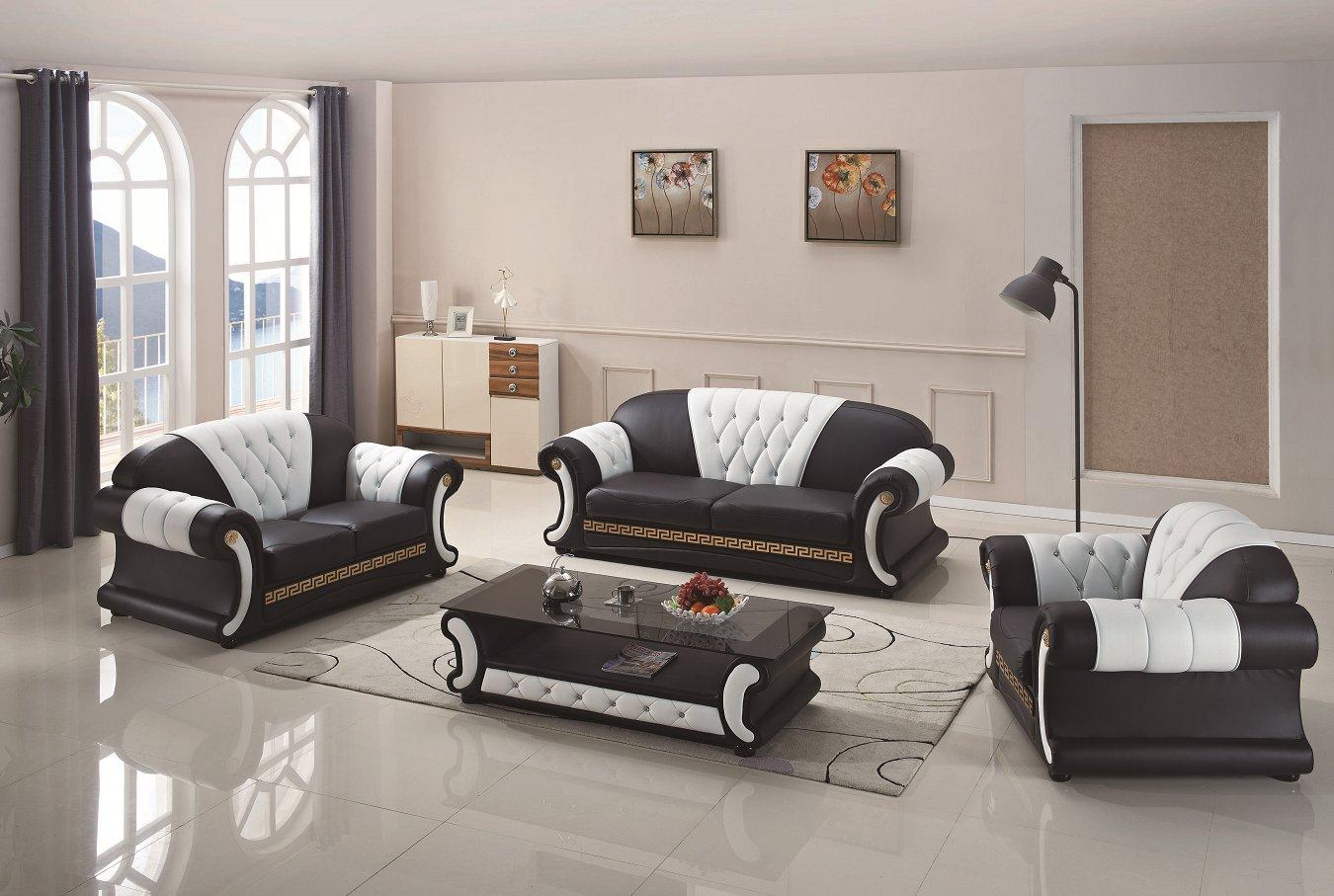 Home Furniture Leather Sofa with Genuine Leather Sofa