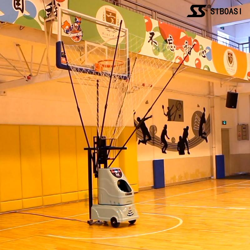2017 New Intelligent basketball training program-controlled machine