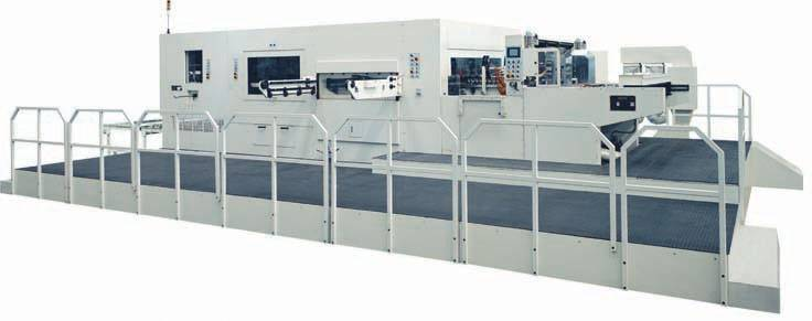 2100S Automatic flatbed diecutting and creasing machine