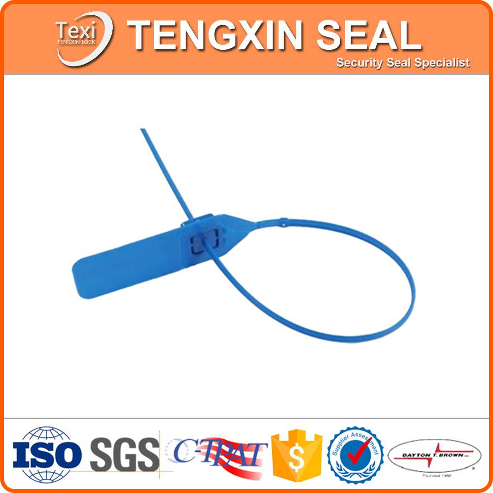tamper proof key lock plastic seal for container