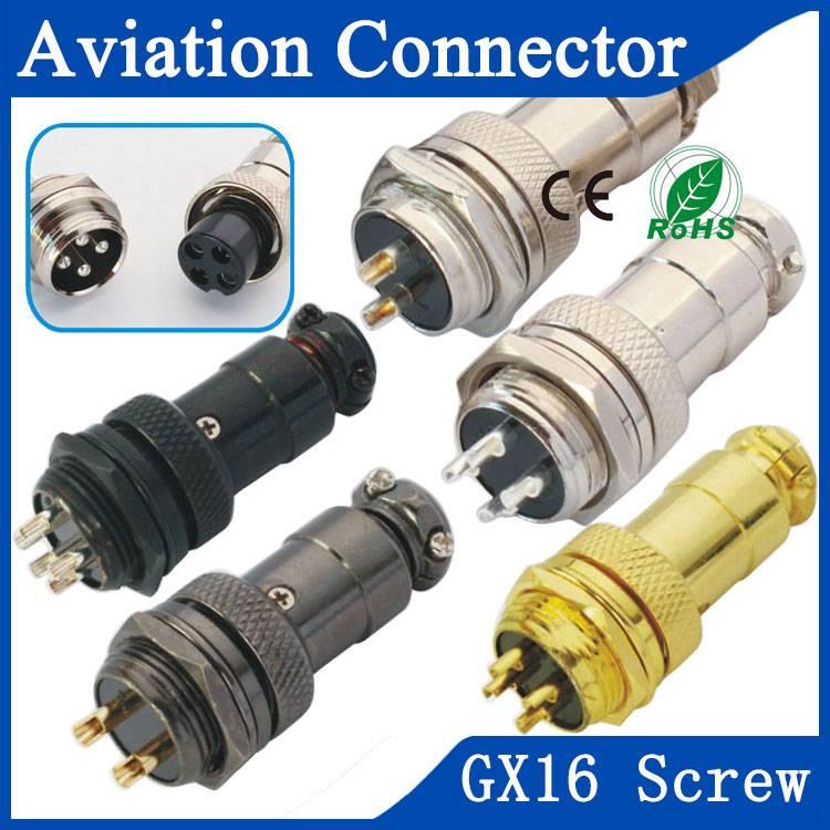 GX16 aviation motor connector
