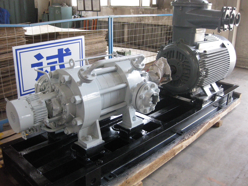 VBBR-M Horizontal, multistage segmental, radially split pumps