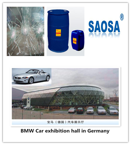 SAOSA bullet proof windshield glass laminating resin with Euorpe CE