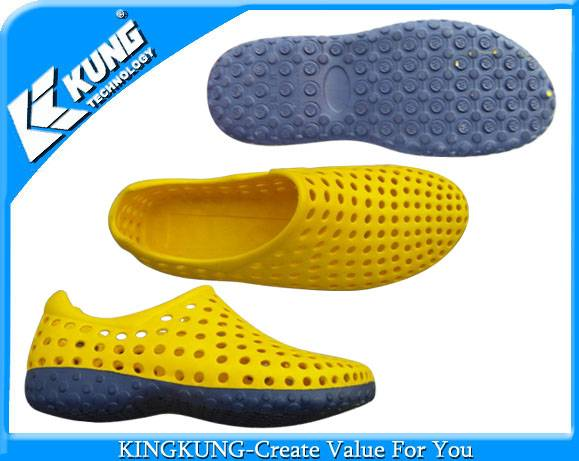 2014 High quality EVA full double color shoe mould