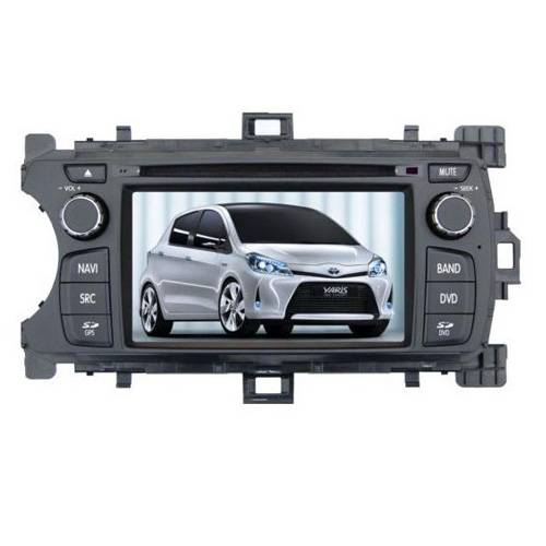 TOYOTA YARIS special car dvd player with USB SD Radio