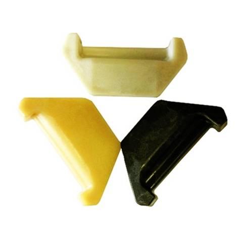 Rail rubber insulators / rail fastenings