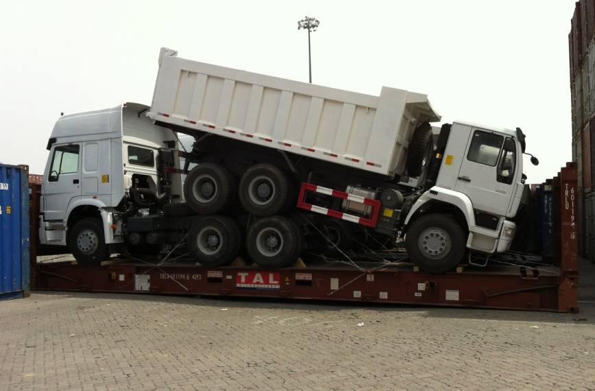 6x4 tractor truck in africa