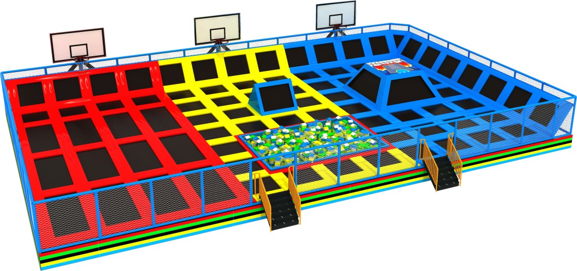 HLB-7051A Customized Commercial Indoor Trampoline Park