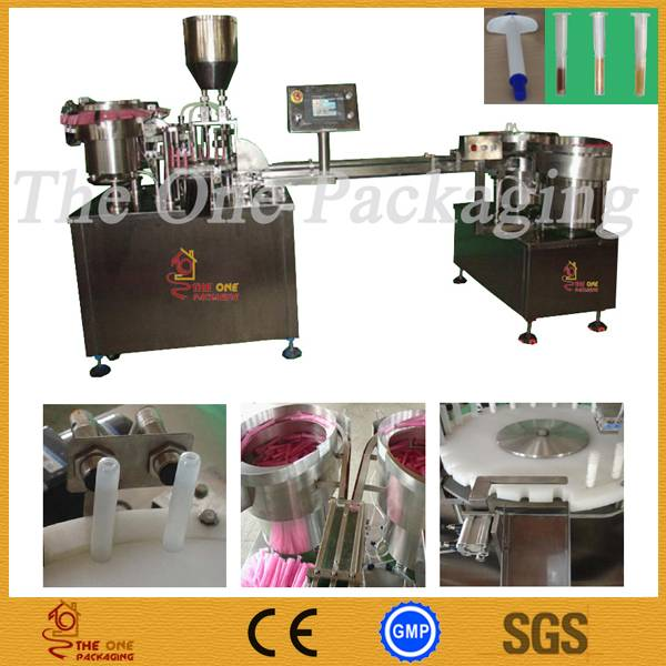 Syringe Filling and Capping Monoblock Machine