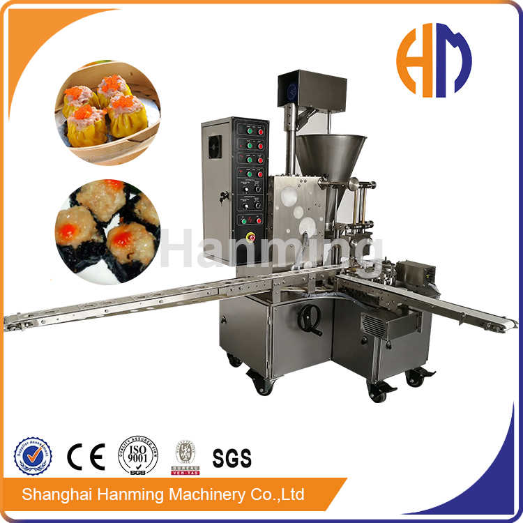 Hanming semi-automatic double line siomai making machine