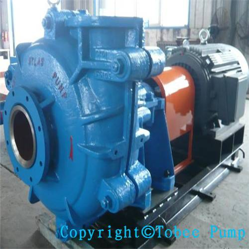 TH Vertical rubber lined slurry pump