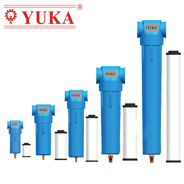 Yuka China Low Price High Quality Precise Compressed Air Filter
