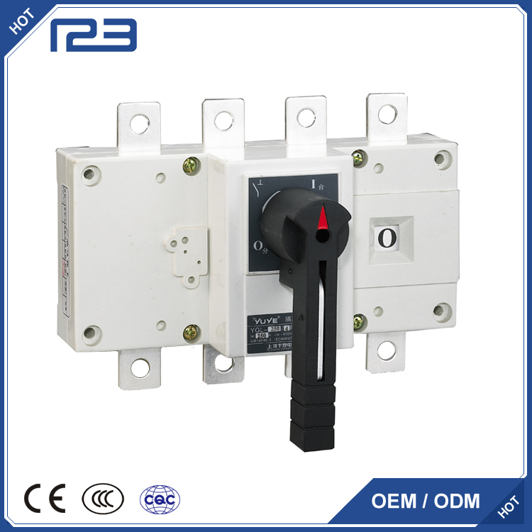 YGL series front Load-isolation switch 63-3150A