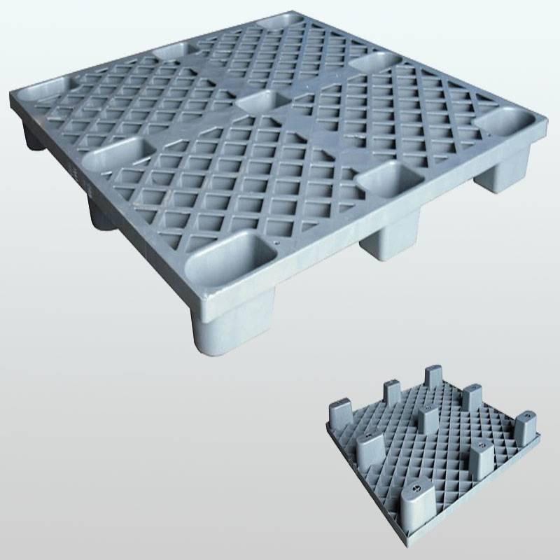 plastic pallet with 9 legged support.grid.1200*1200*140