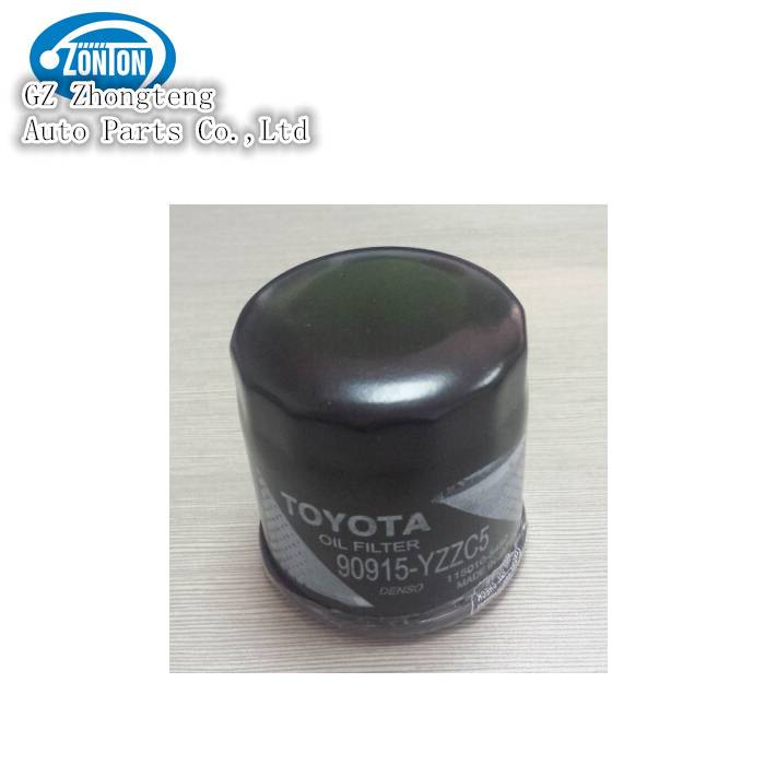 Toyota car parts oil filter with No. 90915-YZZC5