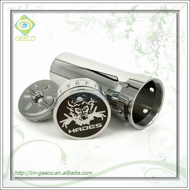 Geeco smart clone hades mod atomizer with free sample wholesale glass pipes smoke pipes