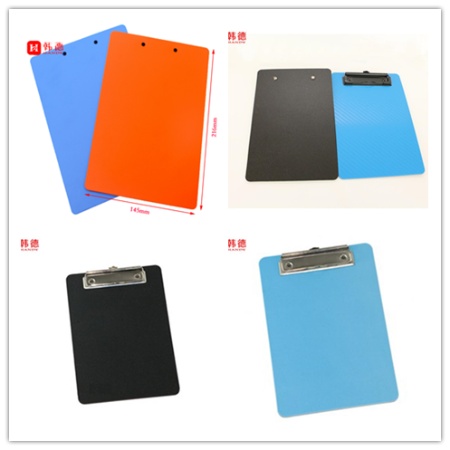 office supplies and stationery OEM factory single side a5 PP foam file clipboard document folder