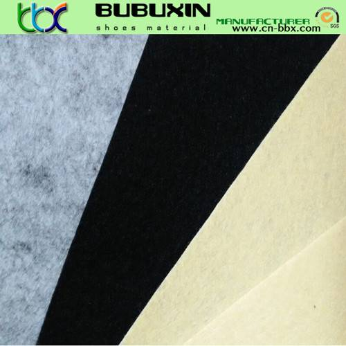 Anti-tearing non-woven PK fabric for making shoes lining
