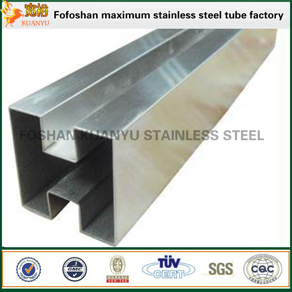 300 series slot stainless steel erw pipe square tubes