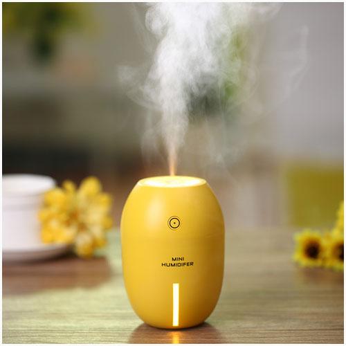 mini lemon humidifier with night light