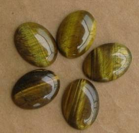 gemstone tiger eye cabochons