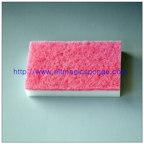 Abrasive Magic Sponge Scouring Pad for Kitchen