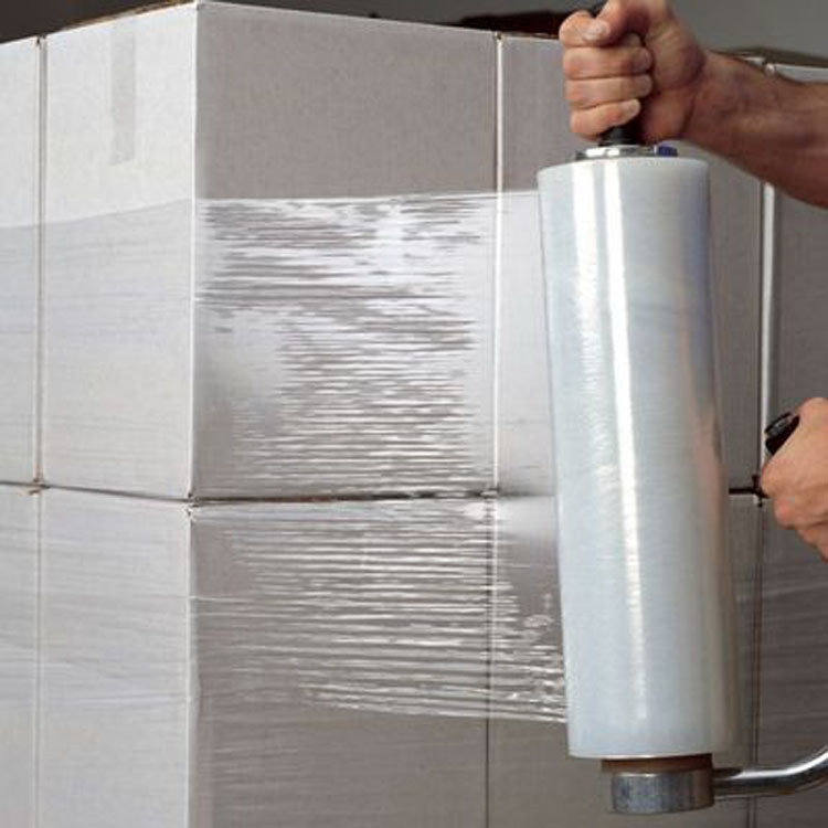 PE Material and packaging film Packaging Film Usage Pallet shrink wrap white stretch film