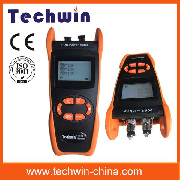 Techwin optical pon power meter TW3212E handheld tester