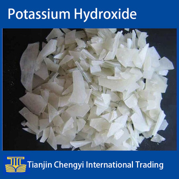 High quality China supplier potassium hydroxide for flakes price