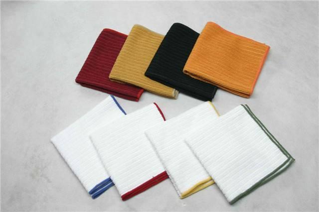 Microfiber warp knitted strip Towel