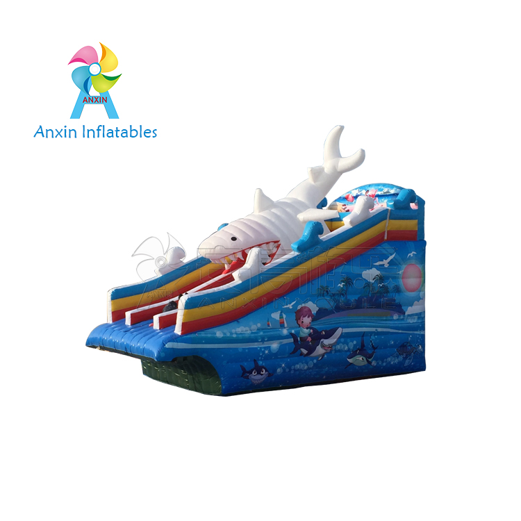 Economical Inflatable commercial Water Slides supplied by ANXIN factory