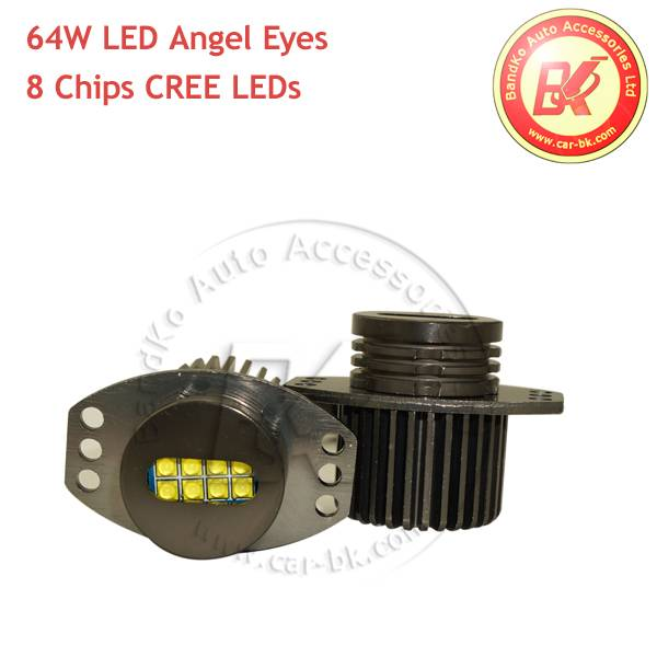 64W CREE LED Angel Eyes Marker For BMW