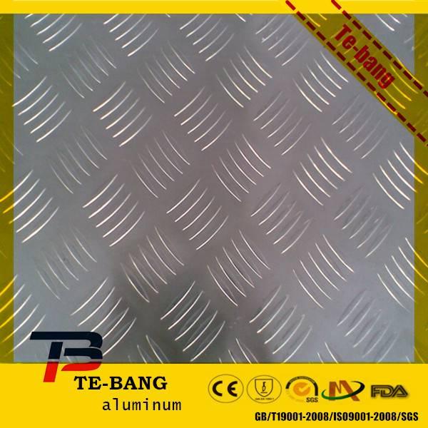 Orange Peel Pattern Stucco Aluminum Embossed Sheets plate