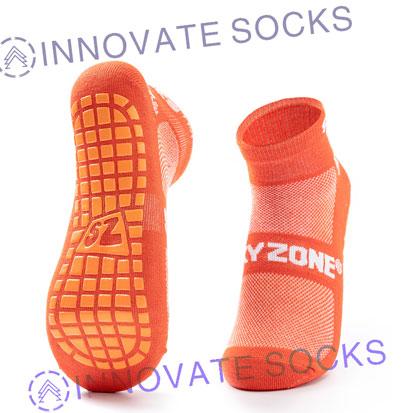 Sky Zone Ankle Anti Skid Grip Trampoline Park Socks