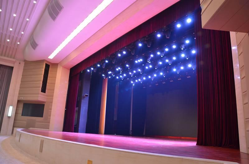 Myanmar / Vietnam stage machinery curtain