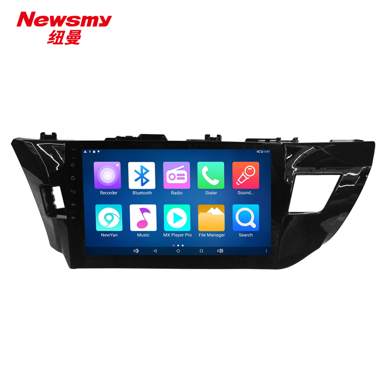 NM7113-H-H0 Toyota Levin 14-16 no canbus Newsmy CarPad4 head unit Android 5.0 with Newyan APP