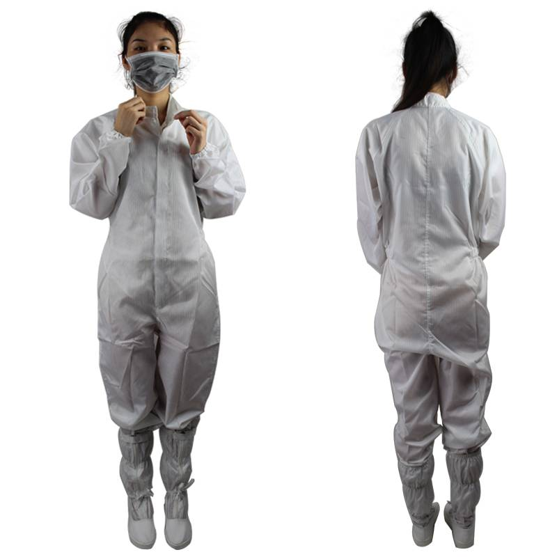 Unisex Hign Quality Lightweight Class 100 Anti Static Safety Coveralls