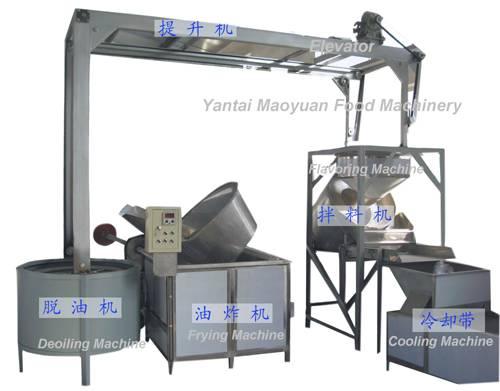 fried nut production line